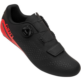 Giro Cadet Shoes Men, black/bright red